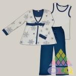 Пижама для девочек арт. 10077