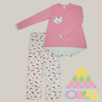 Пижама для девочек арт. 10090
