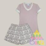 Пижама для девочек арт. 10089