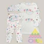 Пижама для девочек арт. 10109