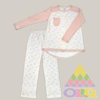 Пижама для девочек арт. 10087