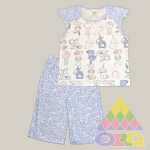 Пижама для девочек арт. 10080