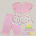 Пижама для девочек арт. 10079