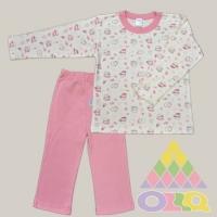 Пижама для девочек арт. 10102